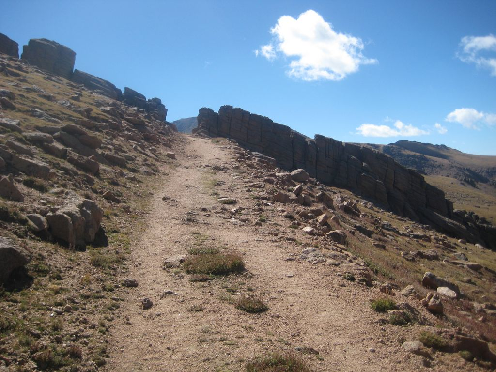Pikes Peak Drive >> Pikes Peak from the Crags