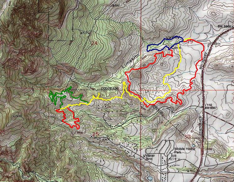 Elevation Map Colorado Springs Colorado Springs Colorado Elevation Map